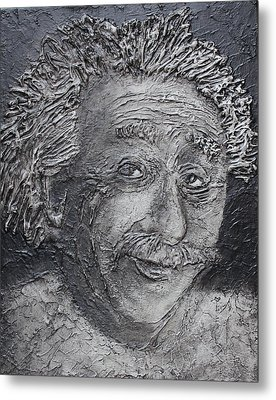 Wilder Einstein Metal Print
