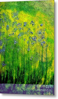 Wildflower Impression By Jrr Metal Print by First Star Art