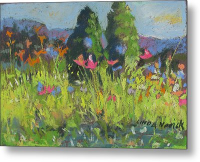 Wildflowers Metal Print by Linda Novick
