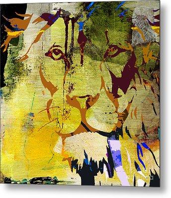 Wildlife Tiger Metal Print