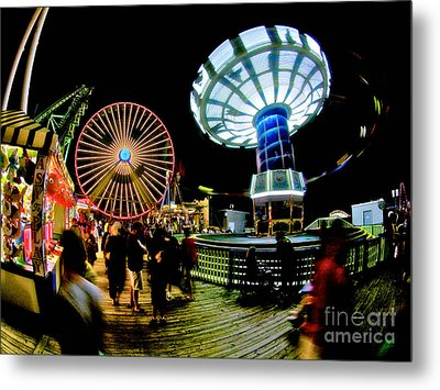 Wildwood Is A Happy Place Metal Print by Mark Miller