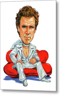 Will Ferrell Metal Print by Art