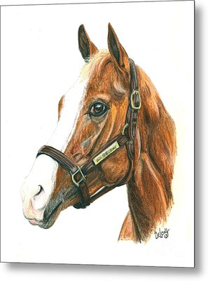 Will Take Charge Metal Print