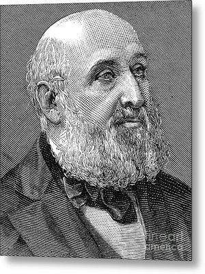 William Farr (1807-1883) Metal Print by Granger