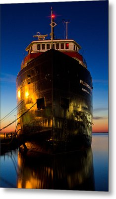 William G. Mather Maritime Museum Cleveland Ohio Metal Print by John McGraw