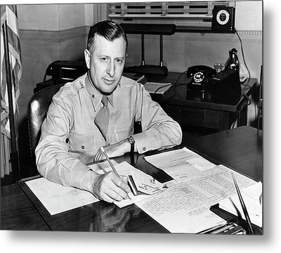 William H. Tunner Metal Print by Us Air Force