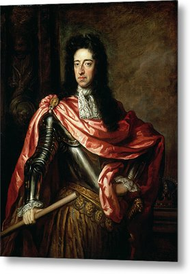 William IIi Of Great Britain And Ireland Oil On Canvas Metal Print