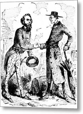 William Lloyd Garrison (1805-1879) Metal Print by Granger