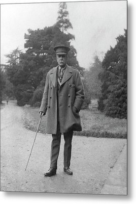 William Osler During The First World War Metal Print by National Library Of Medicine
