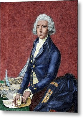 William Pitt (london 1708-hayes, 1778 Metal Print by Prisma Archivo