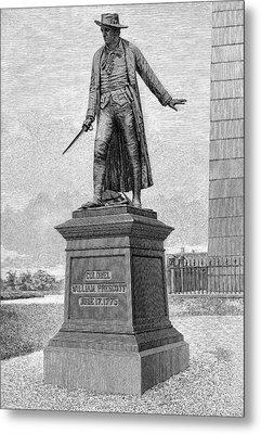 William Prescott (1726-1795) Metal Print by Granger