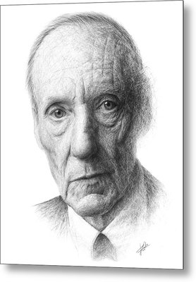 William S. Burroughs Metal Print