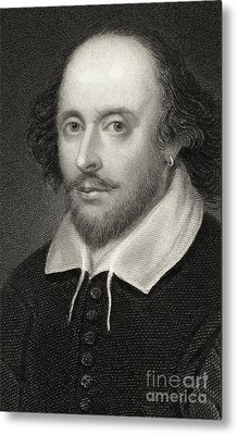 William Shakespeare Metal Print by English School