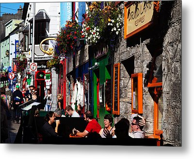 William Street, Galway City, Ireland Metal Print by Panoramic Images