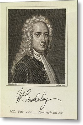 William Stukeley Metal Print by Middle Temple Library