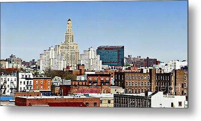 Williamsburg Savings Bank In Downtown Brooklyn Ny Metal Print