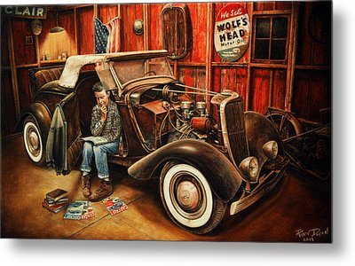 Willie Gillis Builds A Custom Metal Print