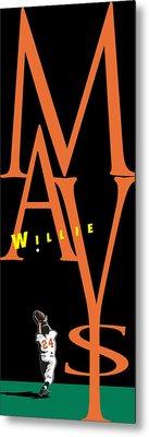 Willie Mays Metal Print