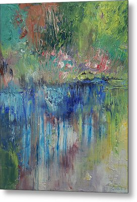 Willows Metal Print by Michael Creese