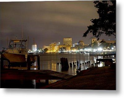 Wilmington Riverfront - North Carolina Metal Print
