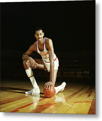 Wilt Chamberlain Metal Print by Retro Images Archive