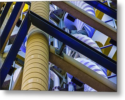 Wind Abstract No.1 Metal Print by Raymond Kunst