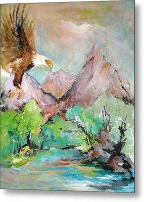 Wind Beneath My Wings Metal Print by Mary Spyridon Thompson