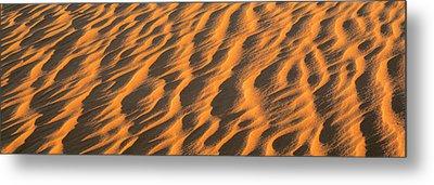 Wind Blown Sand Tx Usa Metal Print