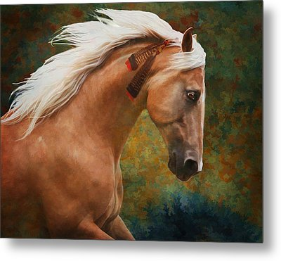Wind Chaser Metal Print
