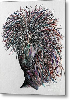 Wind Metal Print by Eloise Schneider