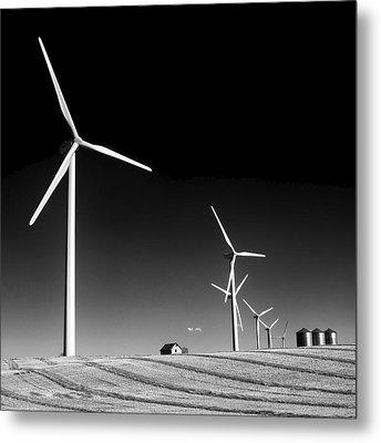 Wind Farm Metal Print by Trever Miller