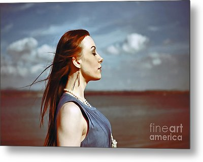 Wind In Her Hair Metal Print by Craig B
