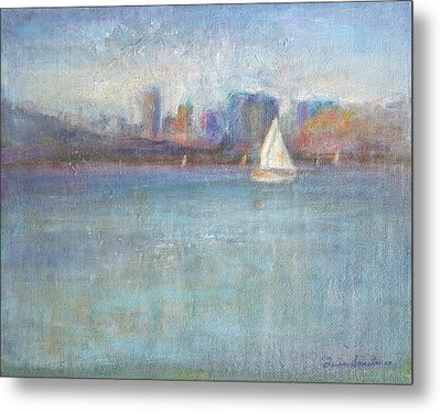 Wind In My Sails Metal Print by Quin Sweetman