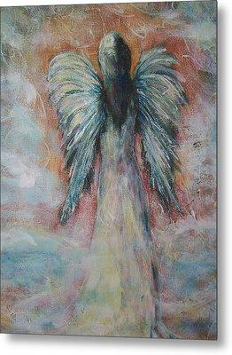 Wind In My Wings, Angel Metal Print