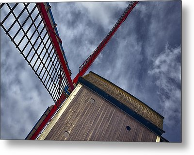 Wind Power Metal Print by Joan Carroll