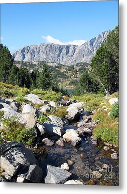 Wind River Range Metal Print