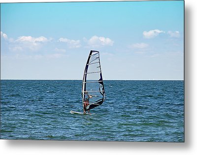 Wind Surfer Metal Print by Aimee L Maher Photography and Art Visit ALMGallerydotcom