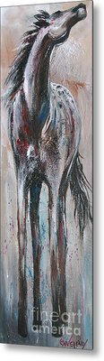 Wind Talker Metal Print
