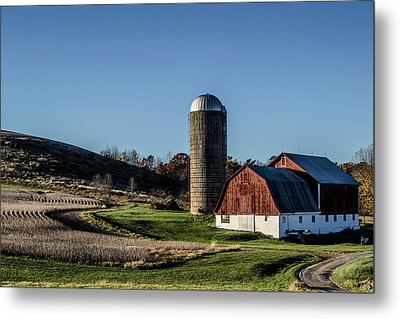 Winding Road Metal Print by Anthony Thomas