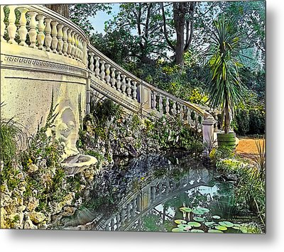 Winding Staircase Metal Print by Terry Reynoldson