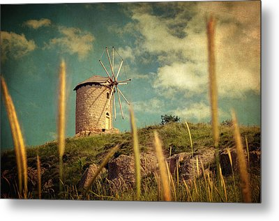 Windmill 14 48 Metal Print by Taylan Apukovska