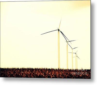 Windmills 1 Metal Print