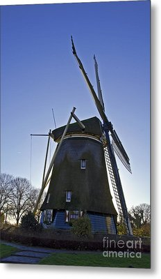 Windmills Of Holland Metal Print by Pravine Chester