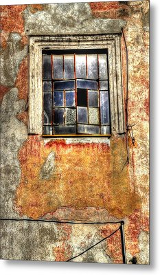 Window Dressing Metal Print by Craig T Burgwardt