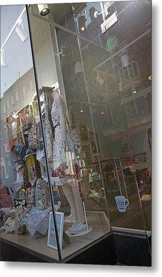 Window--dublin Ireland Metal Print by Betsy Knapp