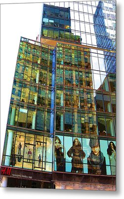 Window Fashion Metal Print