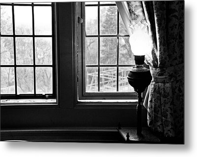 Window Metal Print by Fatemeh Azadbakht
