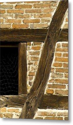 Window Frame Detail 1 Metal Print by Heiko Koehrer-Wagner
