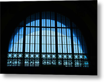 Metal Print featuring the photograph Window In Chattanooga Train Depot by Susan  McMenamin