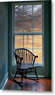 Window In Florissant Metal Print by Nikolyn McDonald